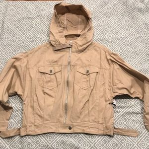Women's Forever 21 TAN  jacket
